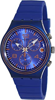 Swatch Men's YCN4009 Blue Silicone Watch