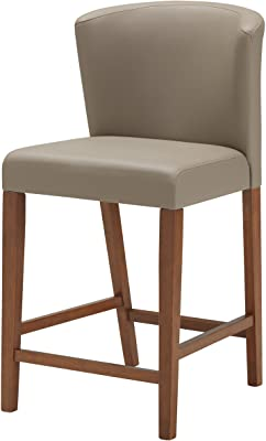 Magnificent Amazon Com Safavieh Mercer Collection Seth Clay Leather Bralicious Painted Fabric Chair Ideas Braliciousco