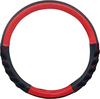Goodyear GY1644 - High Grip Steering Wheel Cover, Red