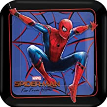 Spiderman Home Square Plates pack