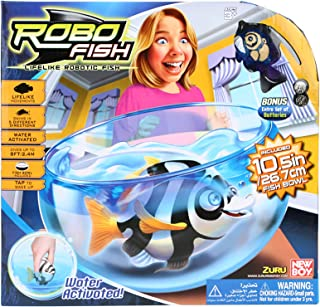 New Boy Robo Fish Fishbowl , Clear - 25213
