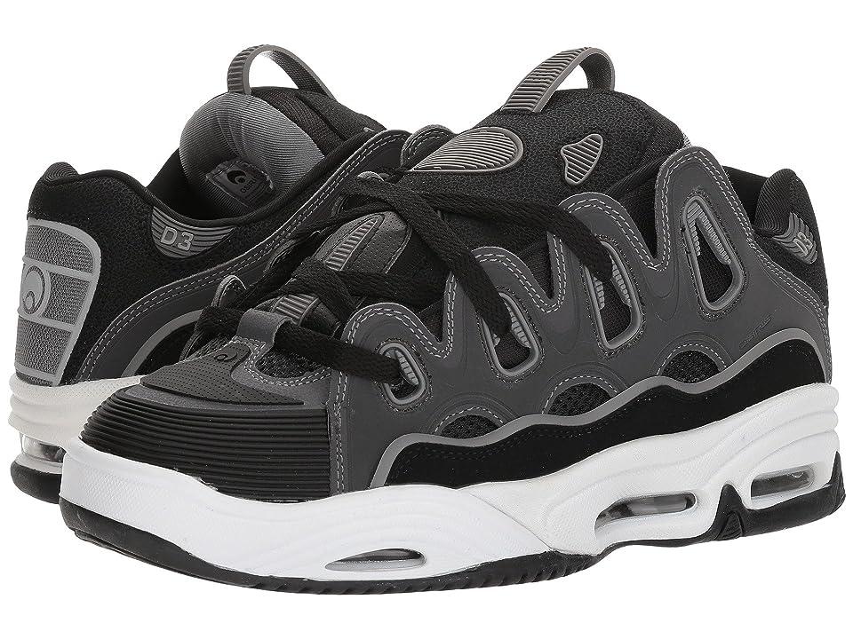 cae1a378318406 Osiris D3 2001 (Black Charcoal Grey) Men s Skate Shoes
