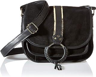 PIECES Damen Pcgry Leather Cross Body Fc Umhängetasche, keine Angabe