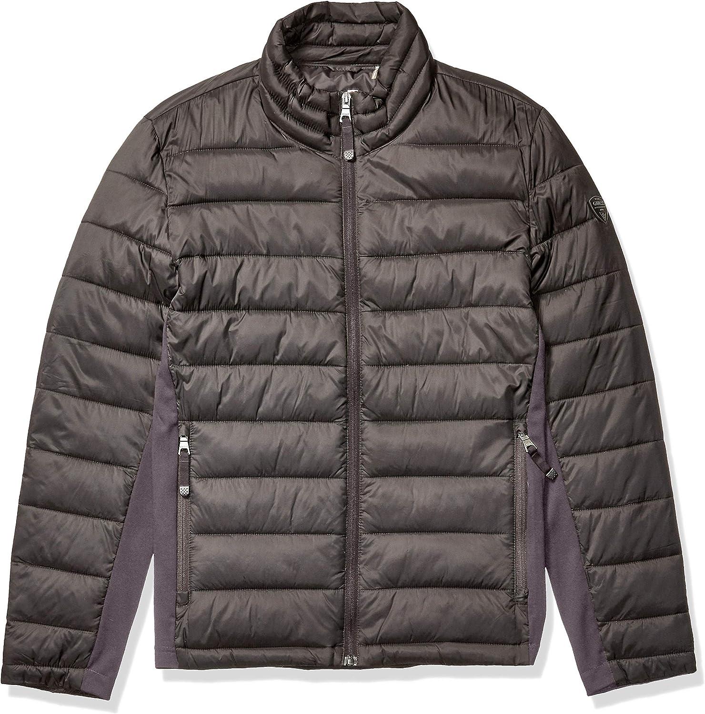 GUESS mens Light Weight Puffer Jacket