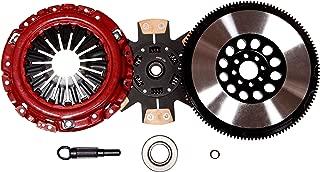 QSC Stage 3 Performance Clutch Kit fits Nissan 03-06 350Z Infiniti G35 3.5L VQ35DE + Chromoly Flywheel