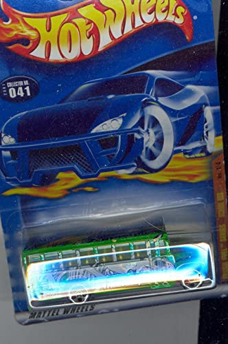 Hot Wheels 2001 041 Fossil Fuel Series Grün School Bus 1 4 Triceratops 1 64 Scale by Hot Wheels