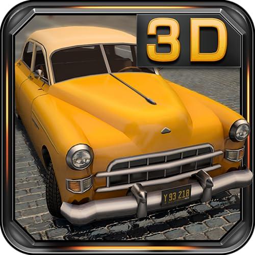 Klassische Autos 3D Parken