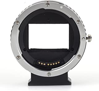 (バシュポ) Pixco オートフォーカス電子接点付きマウント変換アダプター キャノンEFマウントレンズ-ソニーEマウントNEXカメラボディー対応 EF-NEX (フルサイズ)(AF4) A5100 A6000 A5000 A3000 NEX-5T