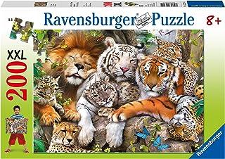 Ravensburger 12721 Big Cat Nap Children's Puzzle 200pc