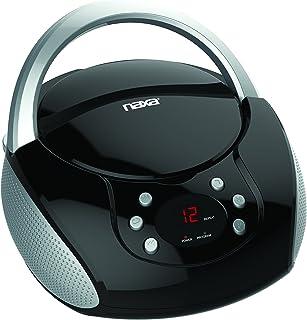 Naxa Electronics NPB-240 Portable Cd Boombox,Black