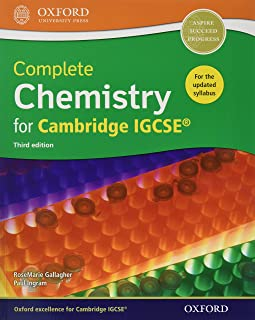 Complete Chemistry for Cambride IGCSERG Student Book (CIE IGCSE Complete Series)