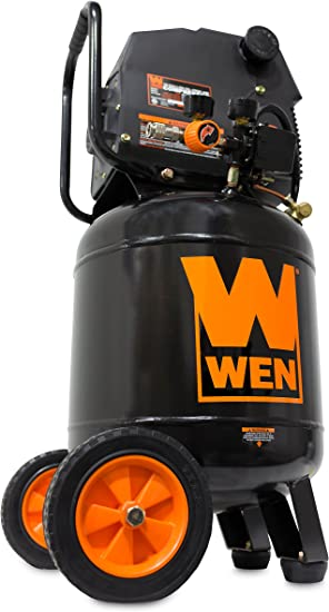 WEN 2289T 10 Gal. Oil-Free Vertical Electric Air Compressor: image