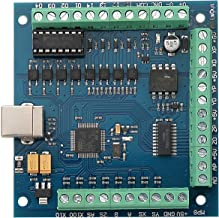 RATTMMOTOR 4Axis Mach3 USB Stepper Motor Controller Board CNC Motion Control Card for CNC Rounting Engraving Milling Machine