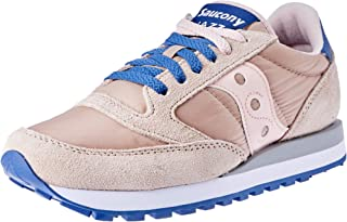 Saucony Jazz Original Women's Running Shoes, Tan/Blush/Blue
