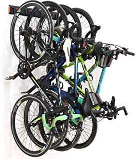 Homeon Wheels Bike Storage Rack,Wall Mount Bike Rack for Garage or Apartment Space, Adjustable Bikes Hooks, Suitable for K...