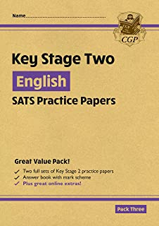 New KS2 English SATS Practice Papers: Pack 3 - for the 2022 tests (with free Online Extras)