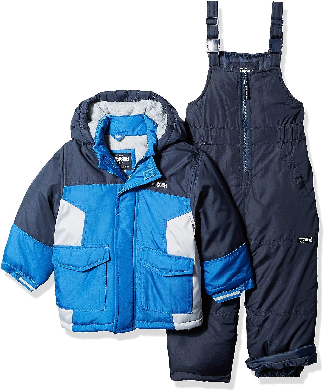 OshKosh B'Gosh Baby Boys' Ski Jacket and Snowbib Snowsuit Set