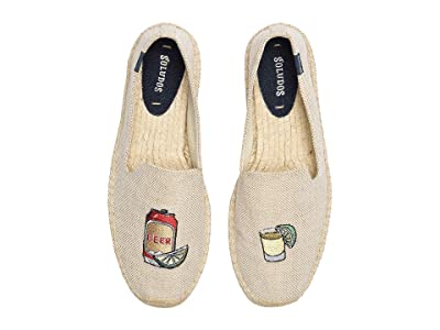 Soludos Beer Shot Smoking Slipper (Cream) Men