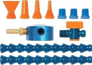 "Loc-Line Coolant Hose Magnetic Base Manifold Kit, 12 Piece, 1/4"" Hose ID"