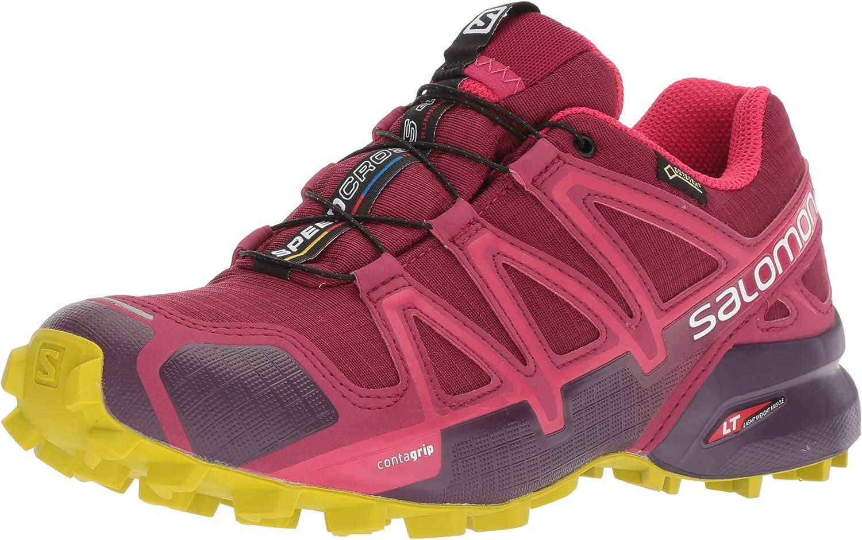 SALOMON Kvinnliga Speedcross 4 GTX GTX GTX Trail Running skor Vattensäkra  försäljning med hög rabatt