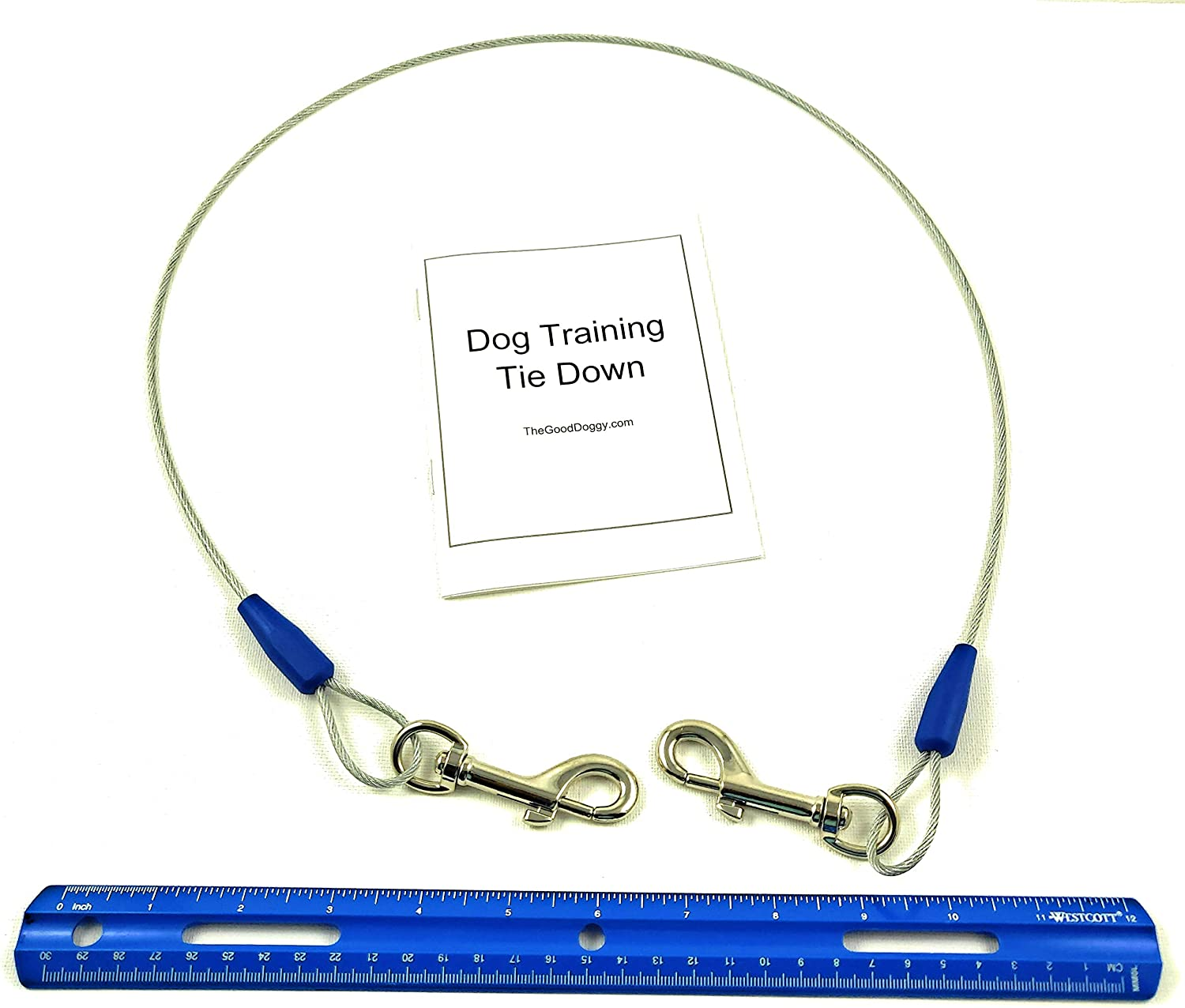 Dog Training Now on sale Tie Out Cable Year-end annual account 3 Begging Che Ft Destructive Jumping