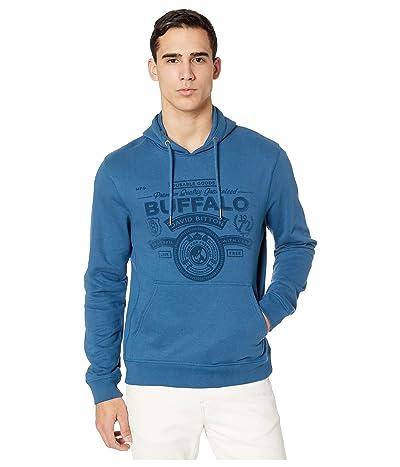 Buffalo David Bitton Fiband Long Sleeve Pullover Hoodie Logo (Utah) Men