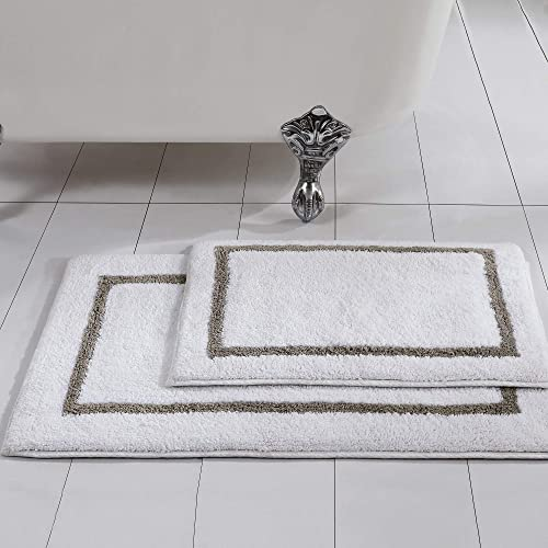 Reversible Cotton Bath Rug Amazon Com