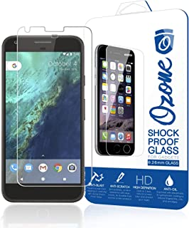 Ozone Google Pixel 2.5D Full Cover Shock Proof Tempered Glass Screen Protector