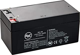B&B BP3-12 12V 3.2Ah UPS Battery - This is an AJC Brand Replacement