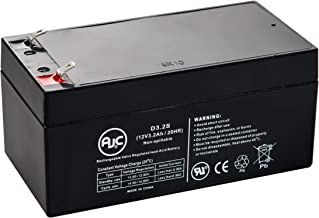 320SL 12V 3.4Ah UPS Battery - This is an AJC Brand Replacement