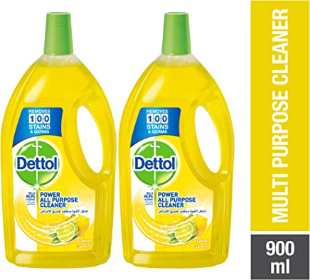 Dettol Lemon Healthy Home All- Purpose Cleaner 900ml Twin Pack