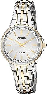 Seiko Women's Two-Tone Solar Watch (Model:SUP394)