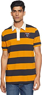 French Connection Men's StripedSlim Fit Polo
