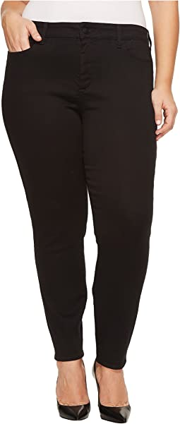 NYDJ Plus Size Plus Size Ami Skinny Legging Jeans in Super Sculpting Denim in Black