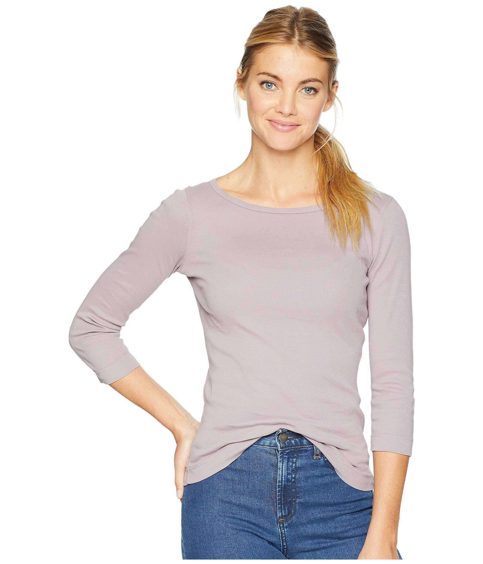 Mist Sleeve 3 Dots Knit 4 Heritage British Lilac 100 Three Cotton Tee pPXx0