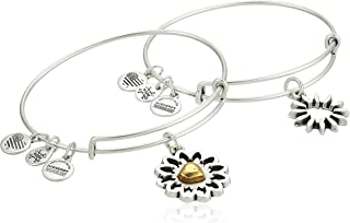 Alex and Ani Women's You are My Heart Two-Tone Bracelet Set of 2