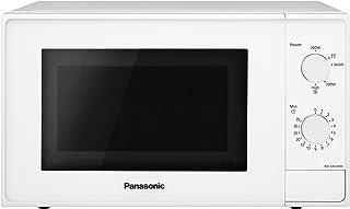 Panasonic NN-E20JWMEPG | Four Micro-ondes Solo, 20 L, Micro-ondes 800 W, Plateau tournant 255 cm, 5 puissances, Intérieur ...