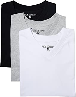 3-Pack V-Neck T-Shirts