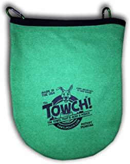 Towch Disc Golf Towel Pouch - 3 to 5 Disc Bag - Choice of 11 Colors