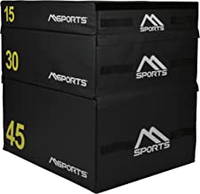 MSPORTS Plyo Box Professional 3-delig | Jump Box Set • Plyo Box • Springbox • plyometrische training