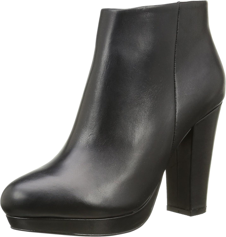 Buffalo Damen 410-10645 L Silk Leather Kurzschaft Stiefel