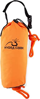 Hydra Creek Rescue Throw Bag, 70 feet, 3/8 inch Rope, Floating,