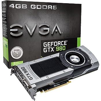 EVGA GeForce GTX 980 4GB GAMING,Silent Cooling Graphics Card 04G-P4-2980-KR