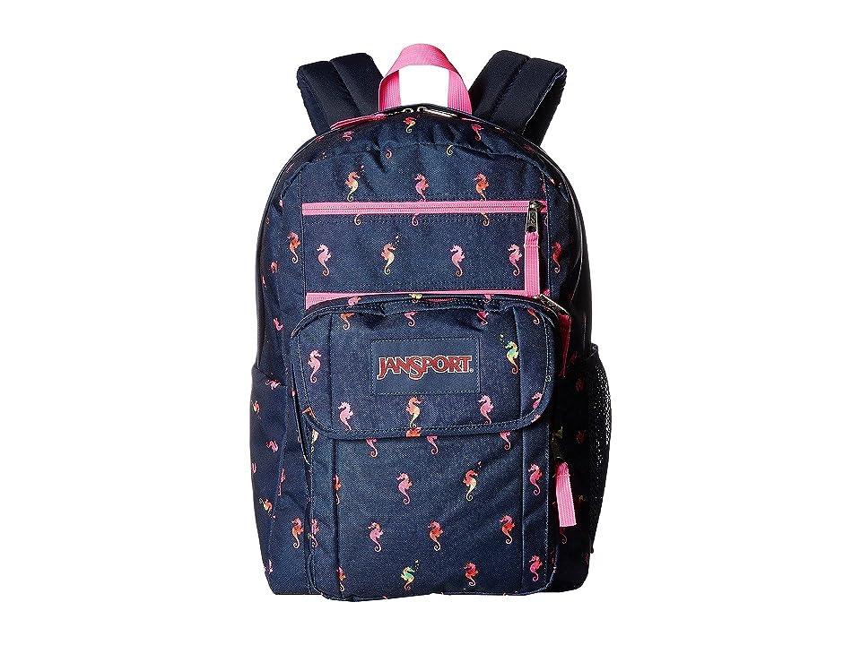 JanSport Digital Student (Sea Horse) Backpack Bags