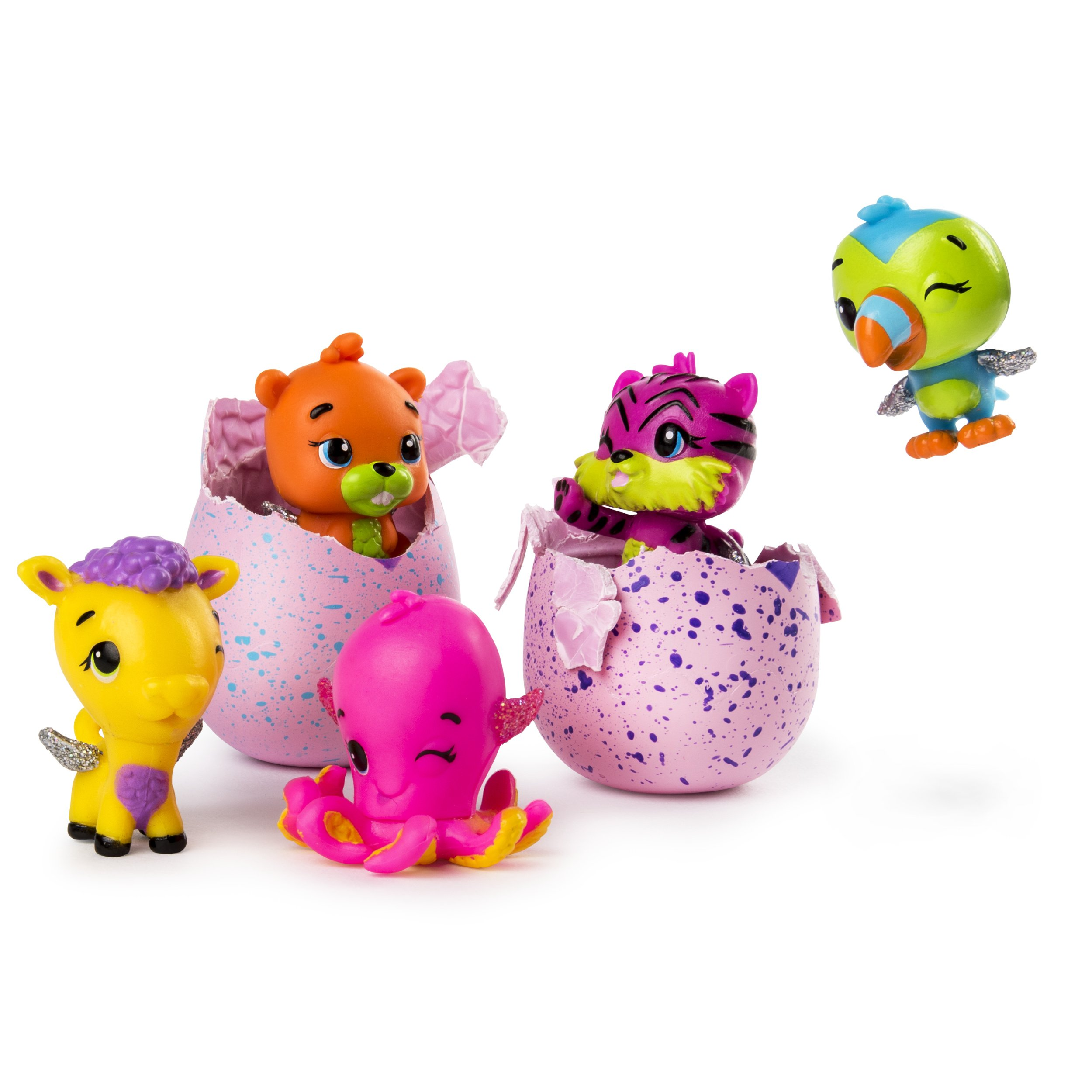Ages 5+ 100 4 New Spin Master HATCHIMALS Colleggtibles Season 2 To Collect
