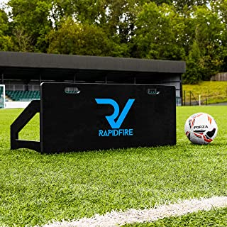 RapidFire Soccer Rebound Board | Soccer Passing Accuracy Training Aid | Soccer Rebounder | Soccer Training Equipment | Soc...