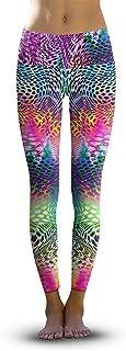 3770abee66bac Om Shanti Clothing Girls Rainbow Leopard - Eco-Friendly Power Leggings