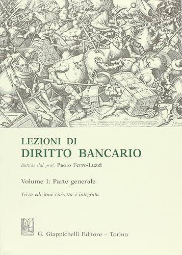Books By Paolo Ferro Luzzi_lezioni Di Diritto Bancario ...