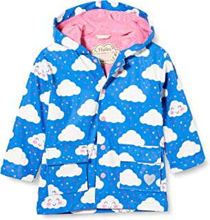 Hatley Printed Raincoat, Chaqueta Impermeable Para Niñas