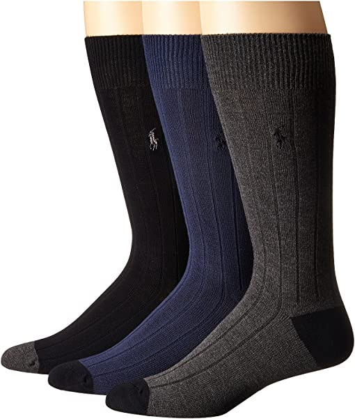 Assorted (Black/Navy/Charcoal)